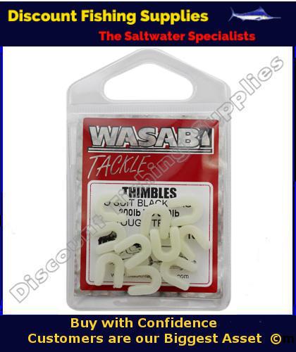 Wasabi thimbles lumo fishing tackle discount fishing for Discount fishing tackle