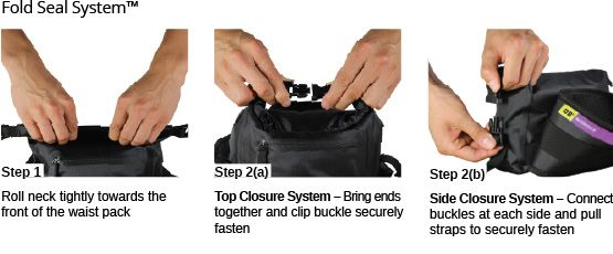 over board waterproof bum bag