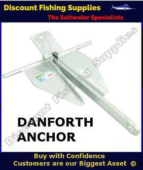 Anchor Danforth 4.0kg