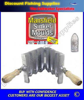 Sinker Mould - Tombstone (RIP) 12,20 & 28oz