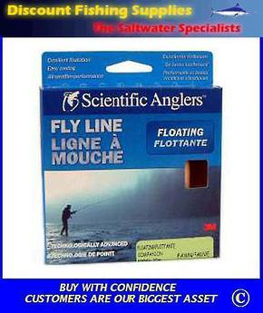 Scientific Anglers Companion Floating Fly Line - WF8F