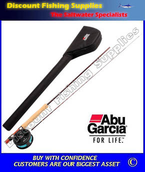 "Abu Garcia Diplomat Fly Fishing Combo 8'6"" 2pc 5-6 weight"