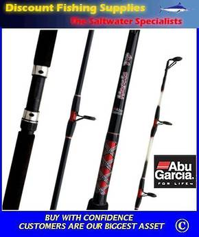 Abu Garcia Muscle Tip Spin Rod 8' 6-8kg 2Pc