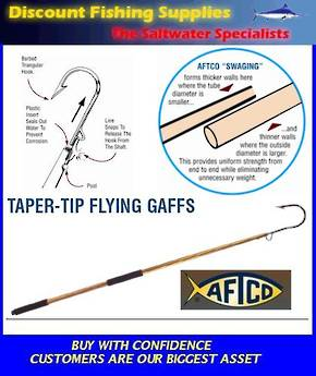 Aftco Taper Tip Flying Gaff 10""