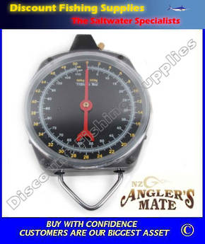 Anglers Mate Large Dial Fish Scales 50kg