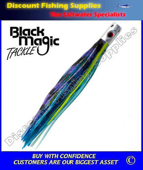 Black Magic Jetsetter Lure - Saury (Rigged)