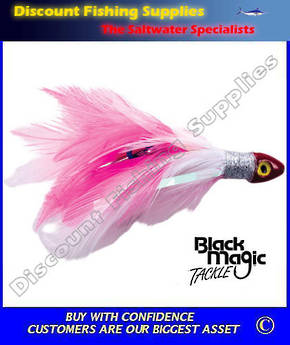 Black Magic Saltwater Chicken - Pink White