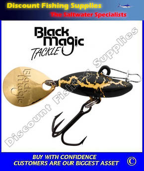 Black Magic Spinsect GoldenGrub Lure