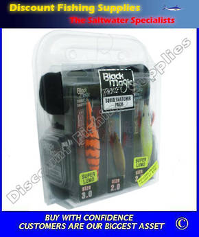 Black Magic Tackle Squid Snatcher Gift Pack