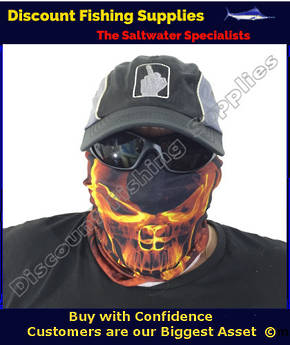 Face Shield - Gold Skull Flame