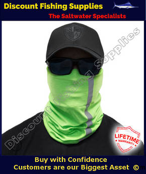 Face Shield - REFLECTIVE - Electric Green