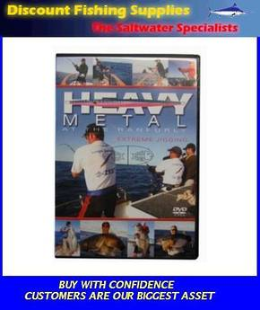 Heavy Metal at the Ranfurly (EXTREME JIGGING) DVD