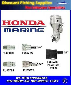 "Honda Female ""New"" Hose Connector. Scepter/Moeller brand"