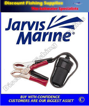 Jarvis Marine Accessory Socket With Battery Clips