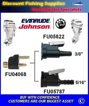 "Johnson / Evinrude Female Fuel Fitting 3/8"" (FU05822)"