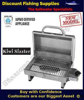Kiwi Sizzler Compact Stainless Steel Barbeque