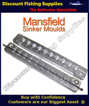 Sinker Mould - Ball Sinker - 10 X 1/8oz (14)