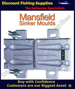 Sinker Mould - Beach Spike 2 X 4oz