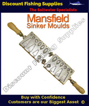 Sinker Mould - Lite Combo - 1/4oz upto 4oz