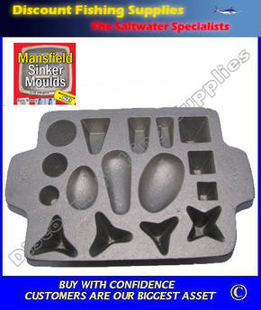 Sinker Mould - Multi Combo - Makes 16 sinkers