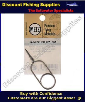 METZ Hackle Pliers- Long Jaw
