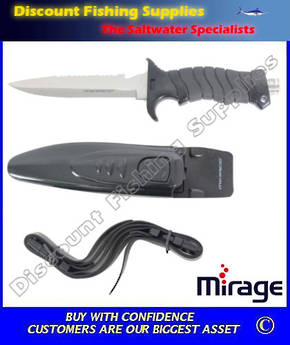 Mirage Dive Knife - Samoa Hammer