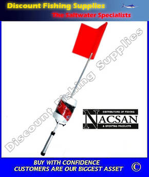 Nacsan Marker Buoy WITH Dropper Rope