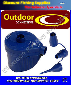 Outdoor Connection Rechargeable Air Pump