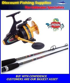 Penn Spinfisher 850 / Power Stick 9ft Rock Combo 2pc