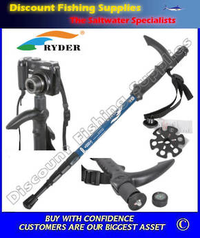 Ryder Trekking Pole With Camera Mount