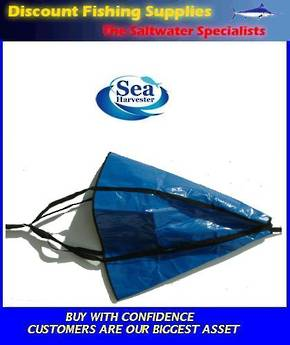 "Sea Harvester Sea Anchor XXXL 54"" Boats 24' - 28'"