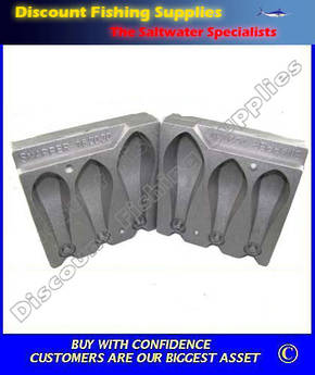 Sinker Mould - Extra Large Combo