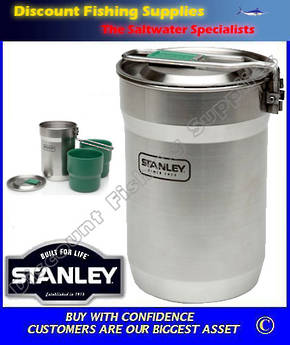 Stanley Adventure Camp Cook Set 700ml - Stainless Steel (LIFETIME WARRANTY)