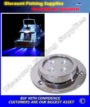 Underwater Light - Surface Mount LED Green