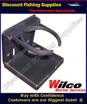 Wilco Drink Holder - Fold up Black