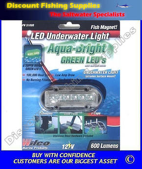 WILCO Underwater LED Light Green