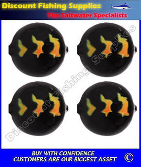 Lil Corky Round Float 20mm - Black Magic