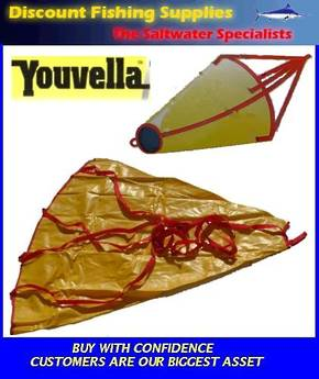 "Youvella Sea Anchor 60"" Boats 28' - 36'"