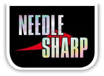 vmc needle sharp logo