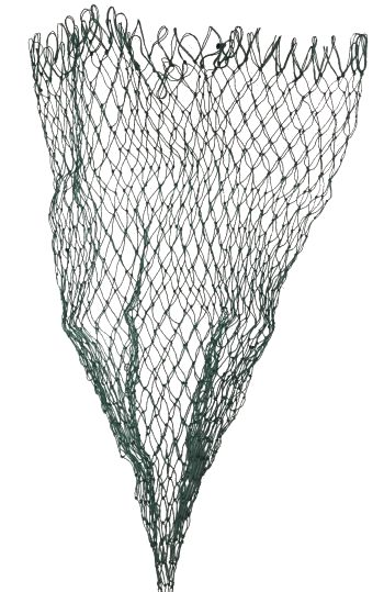 Spare net 600mm black mesh landing net spare net dfs for Replacement fishing net