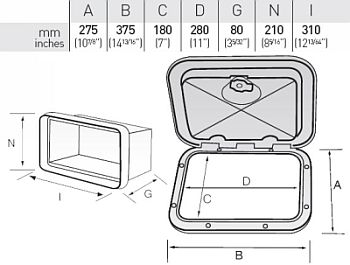 small hatch with box dimensions